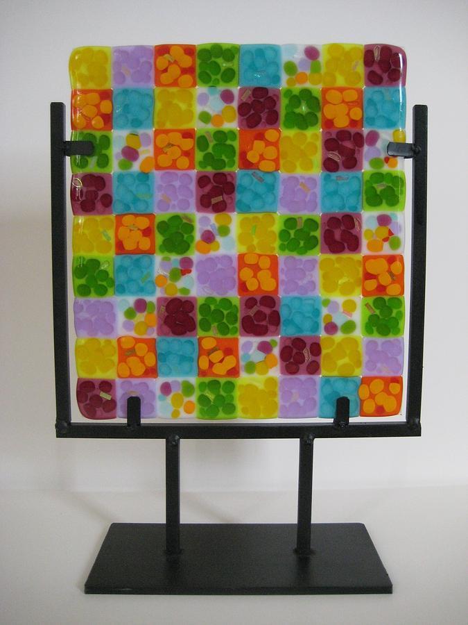 Sixties Glass Art - Pop by Mark Lubich