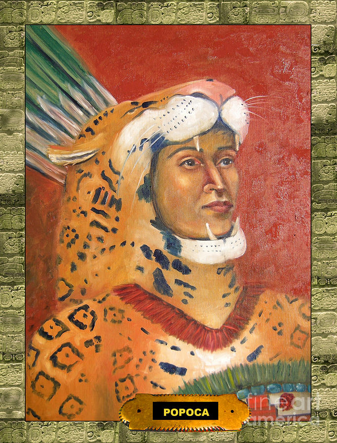 Popoca Painting - Popoca Illustration by Lilibeth Andre
