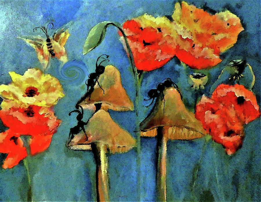 Poppy Ant Culture By Lisa Kaiser Digital Art