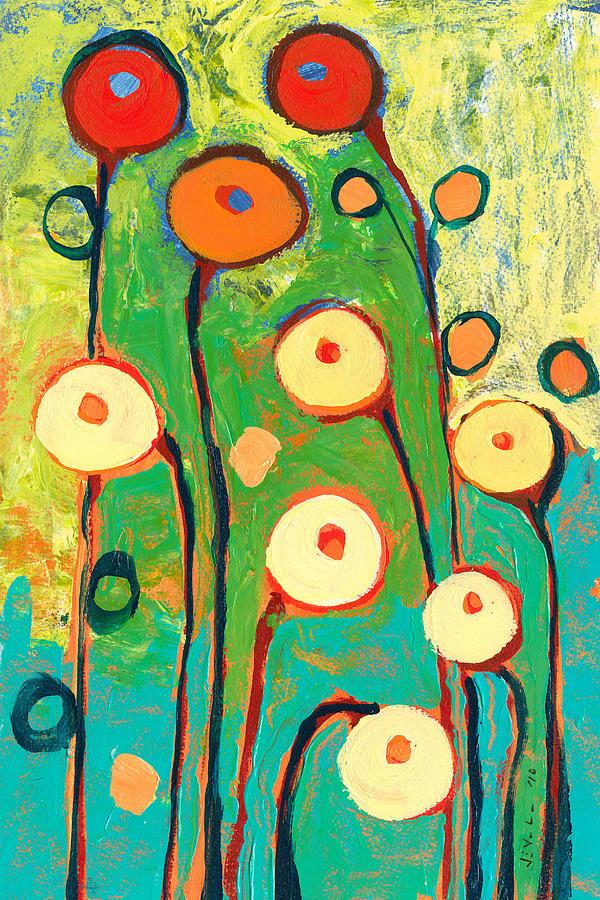 Poppy Painting - Poppy Celebration by Jennifer Lommers