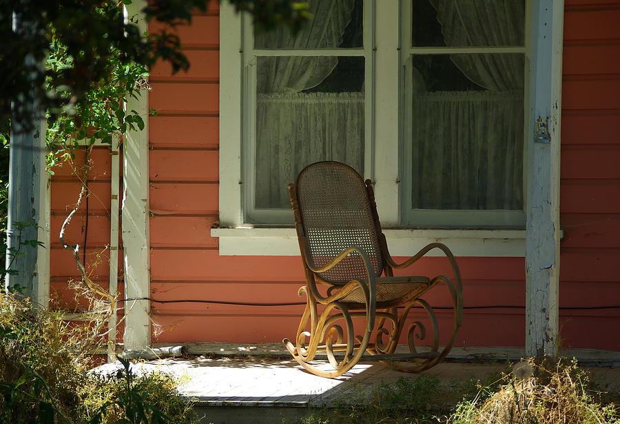 Porch Photograph - Porch Rocker by Dale Stillman