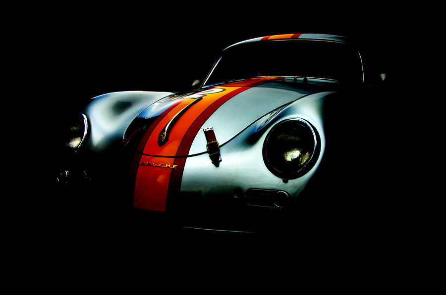 Best Car Photograph - Porsche 1600 by Kurt Golgart