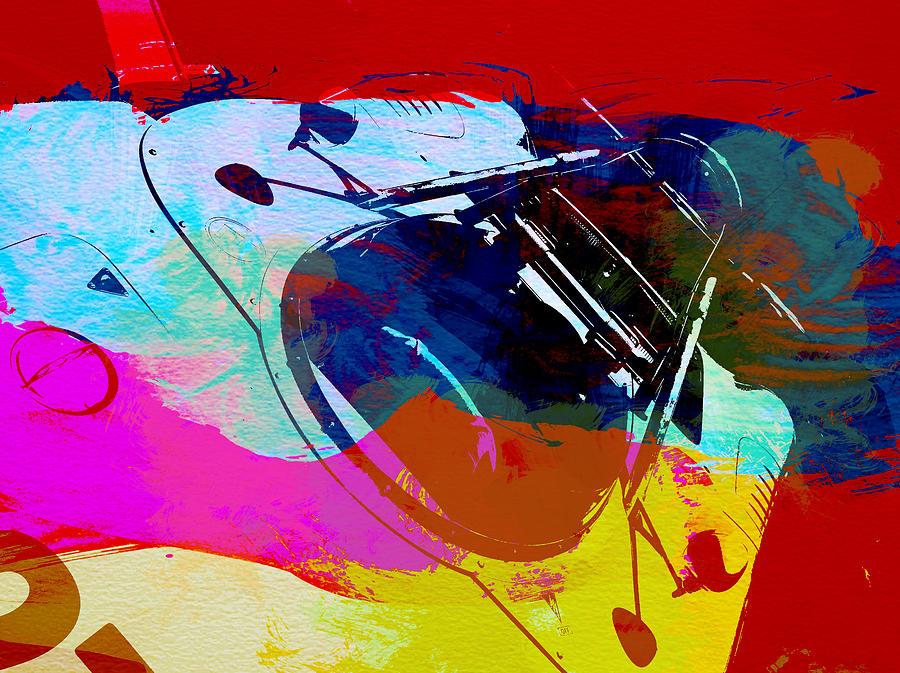 Naxart  Digital Art - Porsche Watercolor by Naxart Studio
