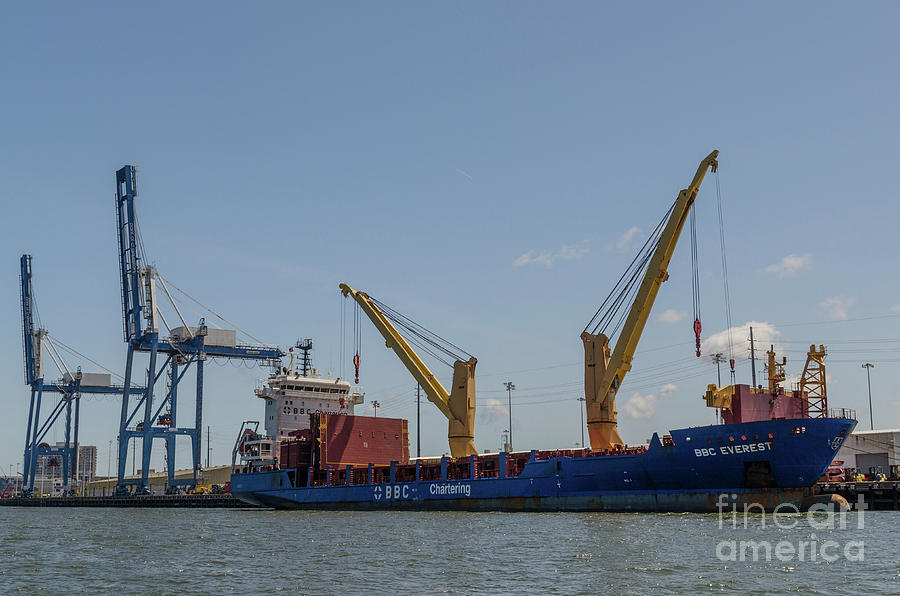 Port Of Charleston South Carolina Photograph