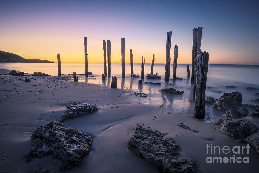Port willunga afterglow photograph by ray warren for Port willunga