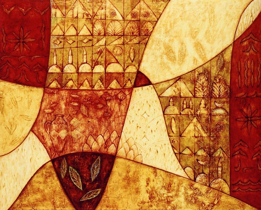 Symbolic Painting - Porta by Kasia Blekiewicz
