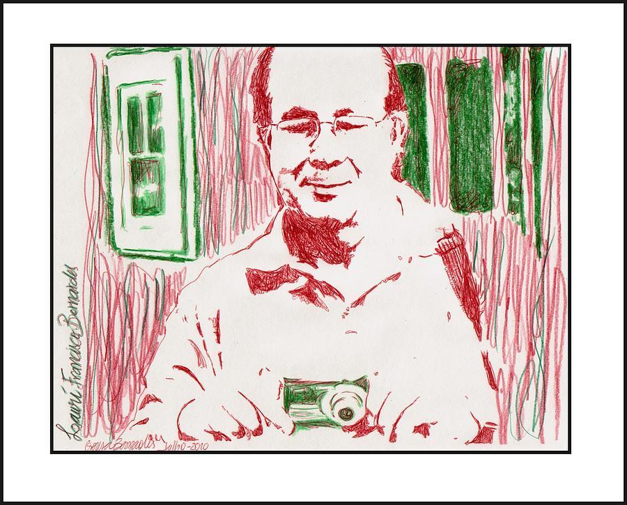 Portrait  Lauri Drawing