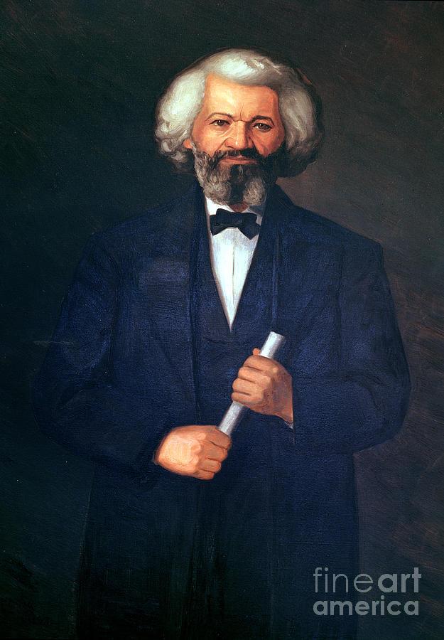 Portrait Of Frederick Douglass Painting