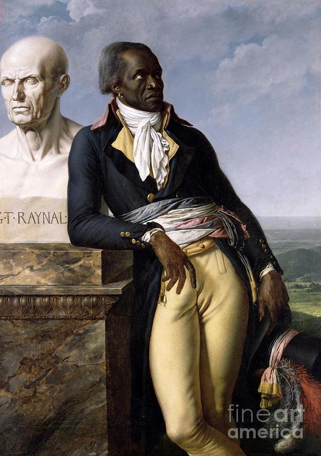 Portrait Painting - Portrait Of Jean-baptiste Belley by Anne Louis Girodet de Roucy-Trioson