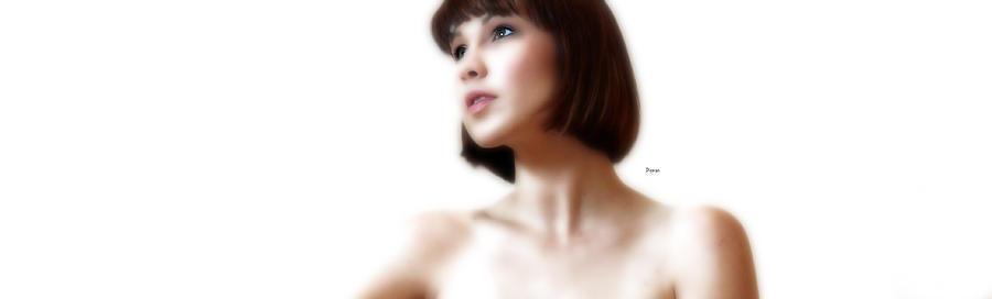Portrait White  Photograph