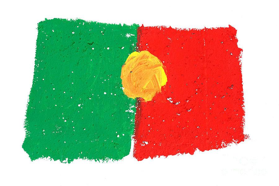 Portuguese Flag Photograph