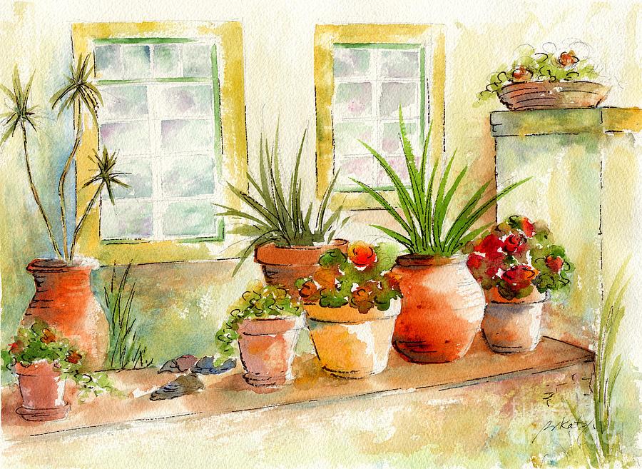 Portuguese Planters Painting