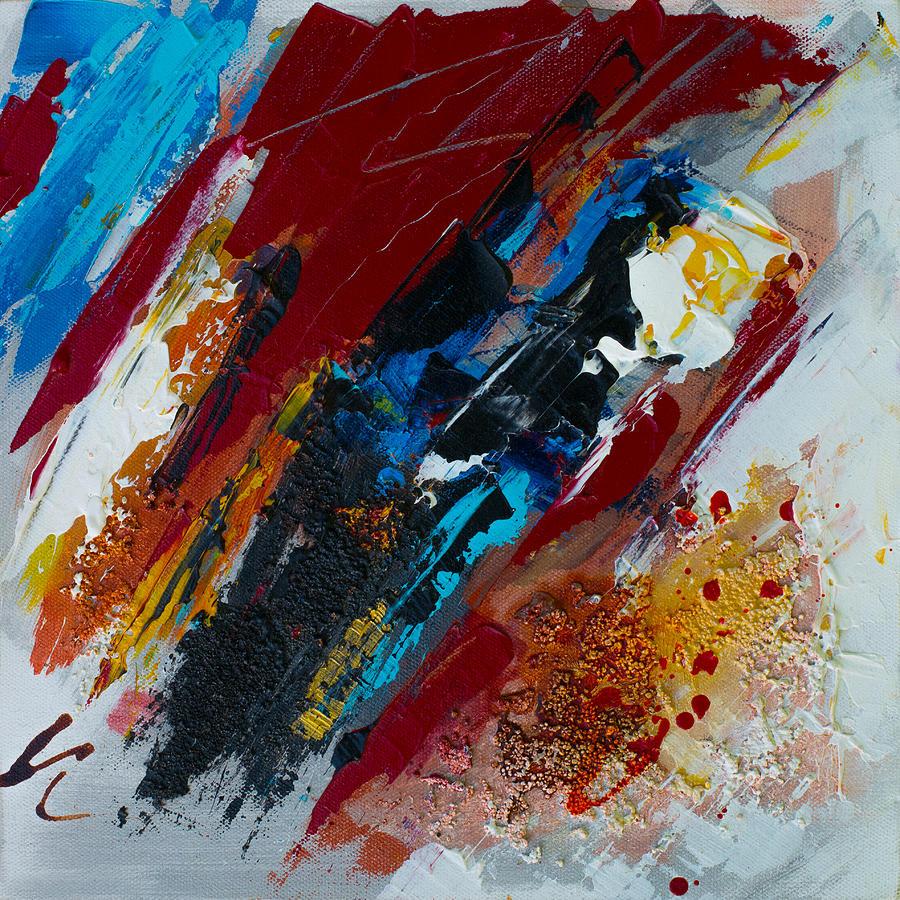 Acrylic Painting - Positive Energy by Elise Palmigiani