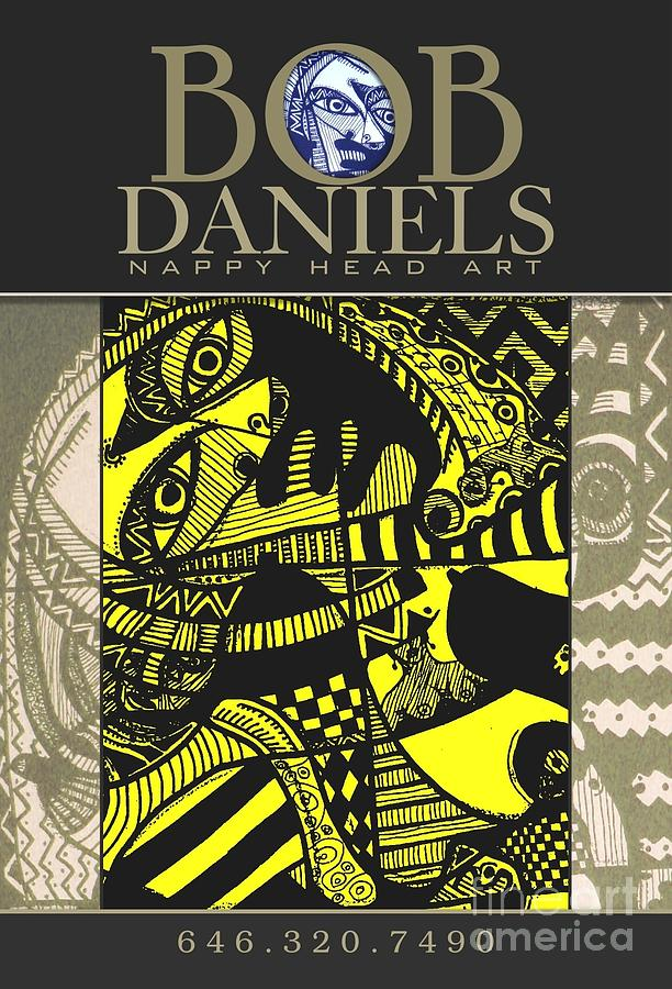 Bob Daniels Digital Art - Poster Art by Robert Daniels