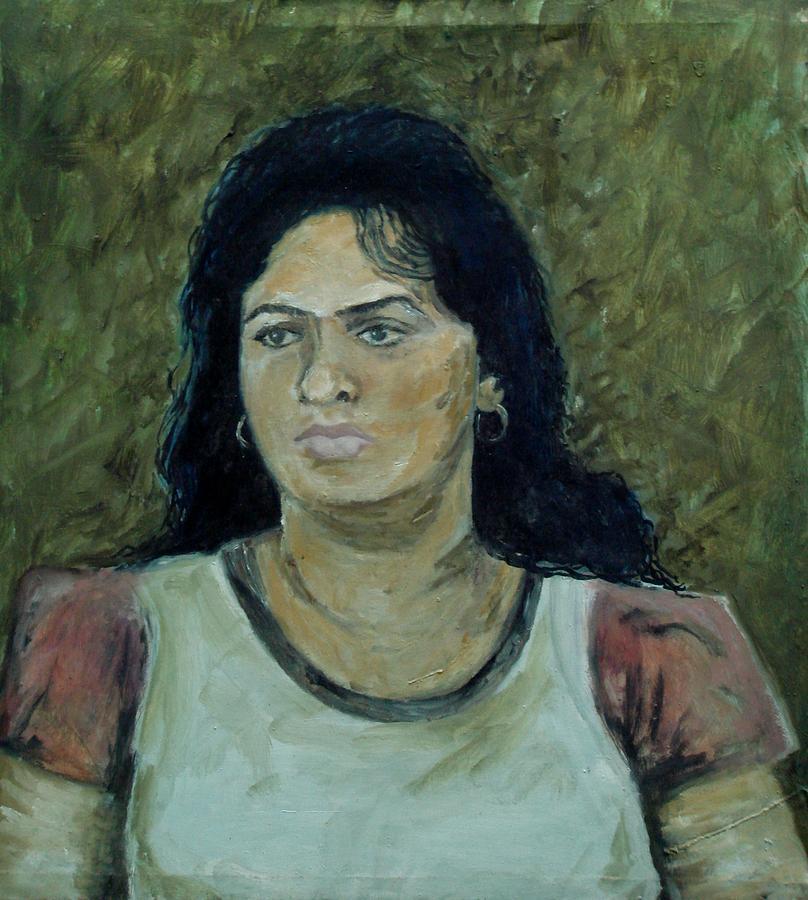 Portrait Painting - Potrait by Kevin Steven