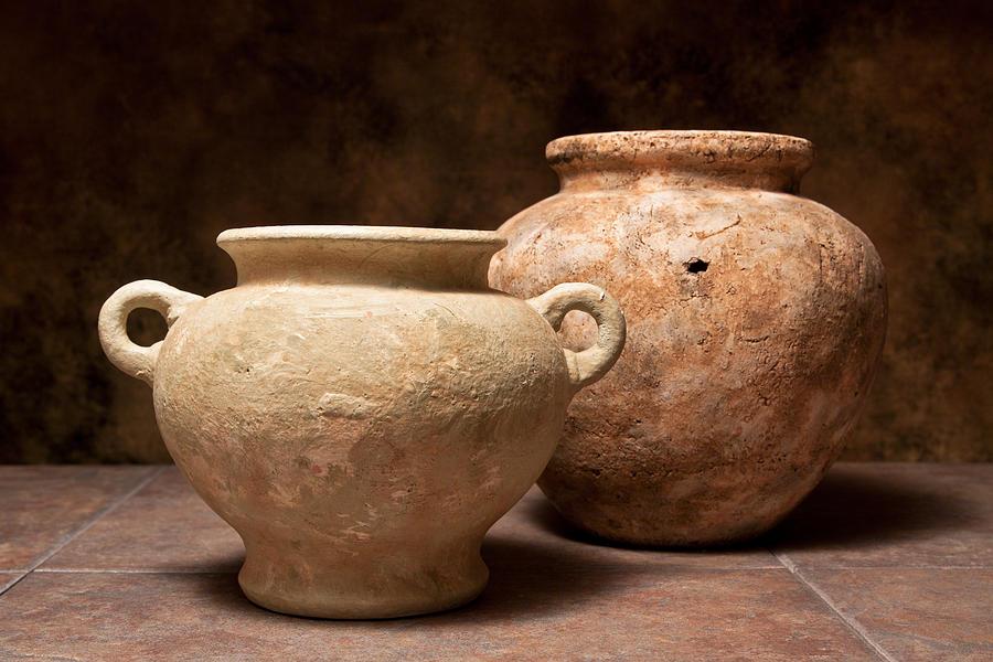 Pottery Photograph - Pottery I by Tom Mc Nemar