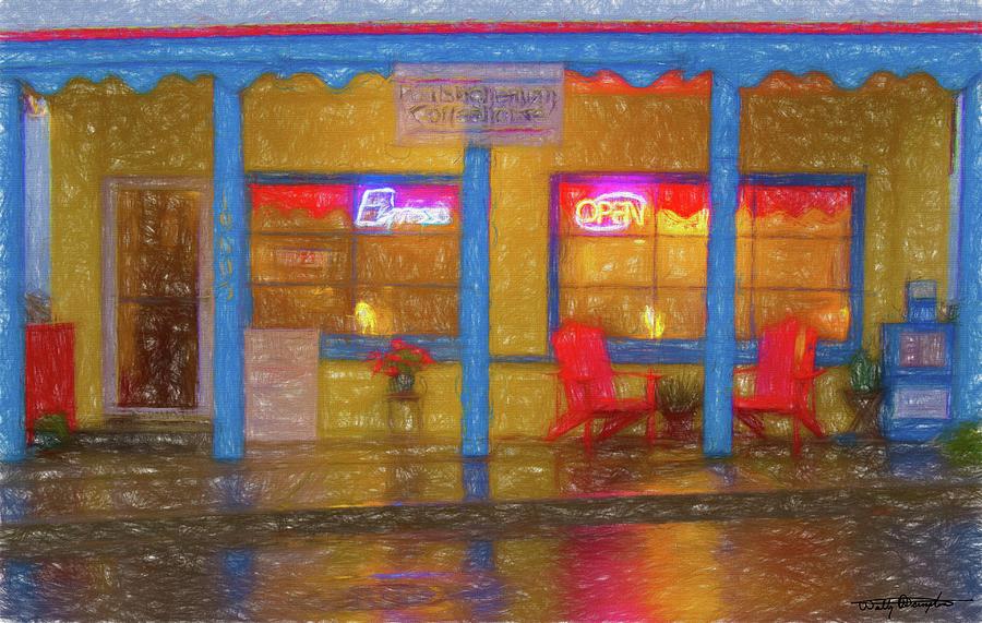 Poulsbohemian - Wet Night Digital Art