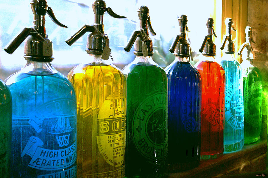 Food And Beverage Photograph - Pour Me A Rainbow by Holly Kempe