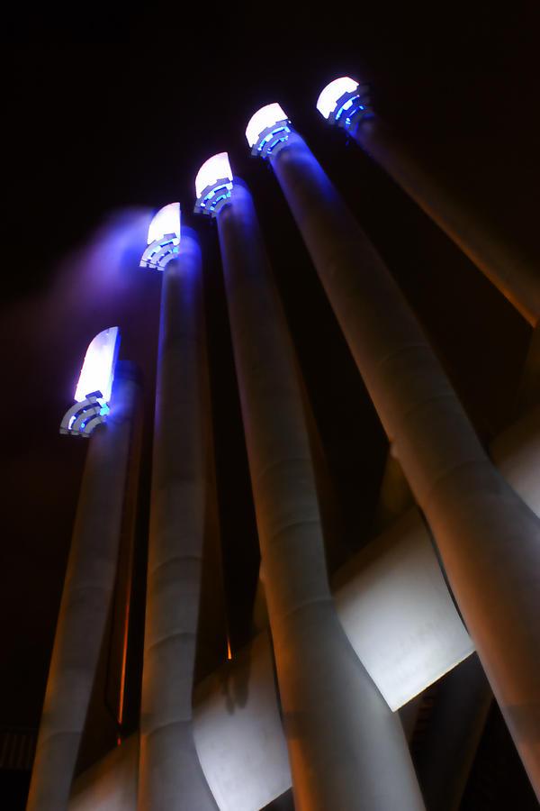False Creek Photograph - Power Glow by Barbara  White