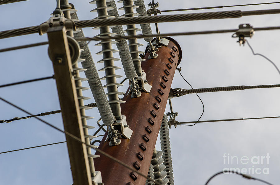 Power Lines Photograph