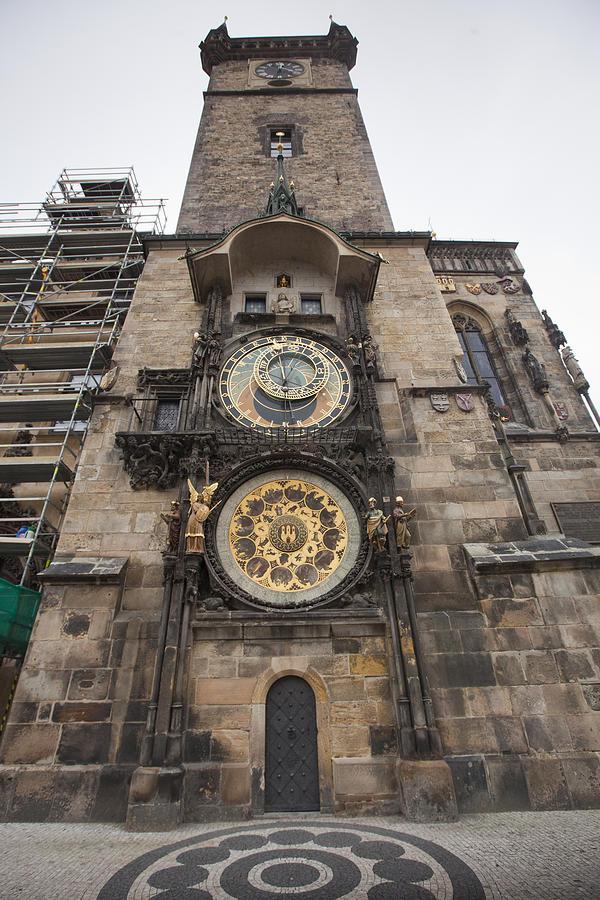 Architecture Photograph - Prague Astronomical Clock by Andre Goncalves