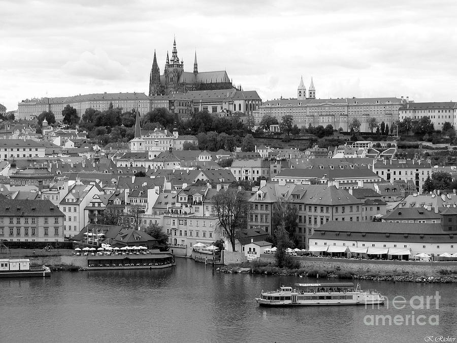 Landscape Photograph - Prague Castle by Keiko Richter