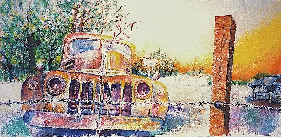 Cars Painting - Precious Memories by Curtis James