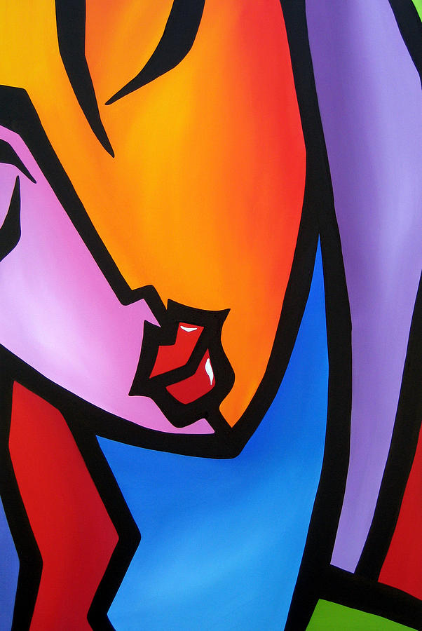 Pop Art Painting - Precision by Tom Fedro - Fidostudio