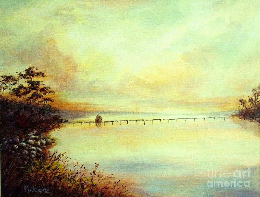 Canvas Prints Painting - Prelude by Madeleine Holzberg