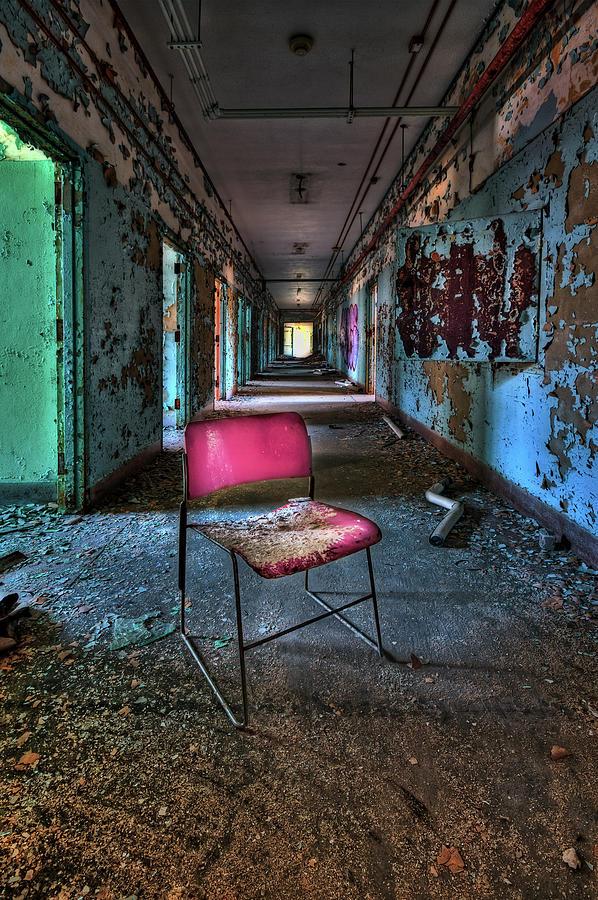 Chair Photograph - Presence by Evelina Kremsdorf