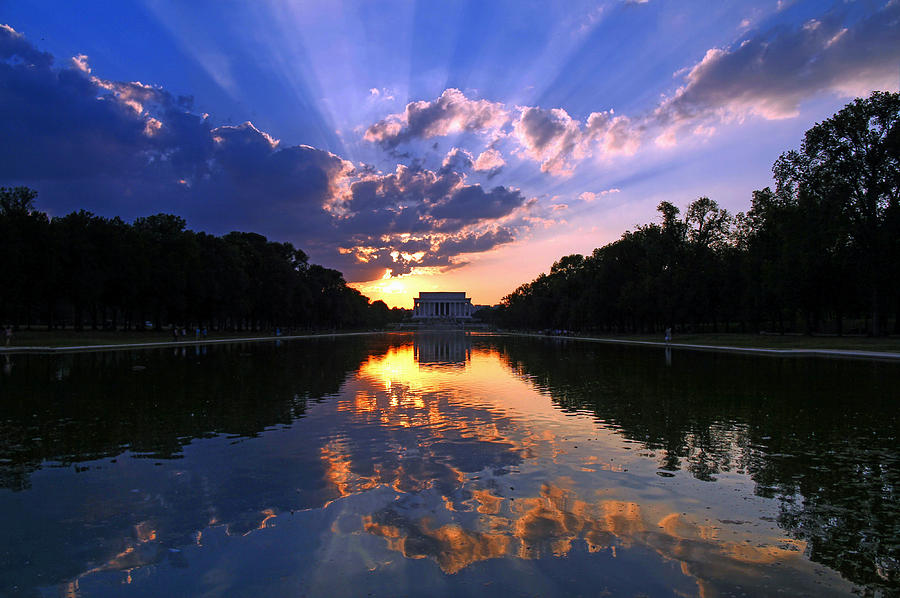 Lincoln Memorial Photograph - Preservation Of The Spirit by Mitch Cat