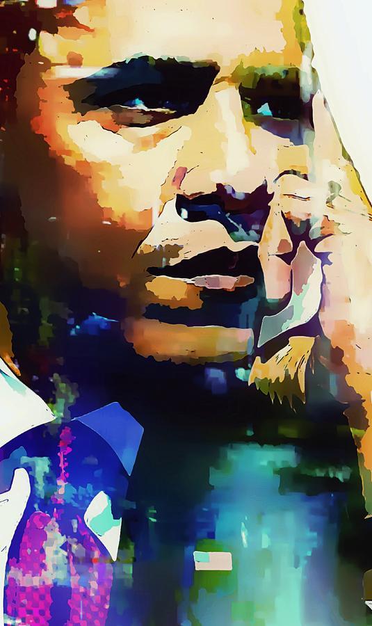 U.s. President Digital Art - President Barack Obama by Lynda Payton