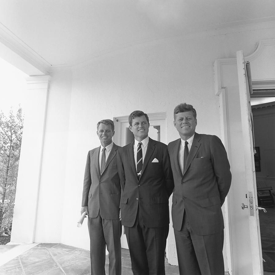 History Photograph - President John Kennedy by Everett