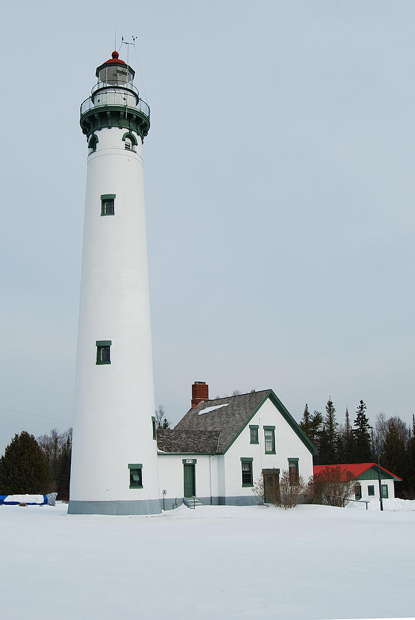Presque Isle Lighthouse Photograph - Presque Isle Lighthouse by Michael Peychich