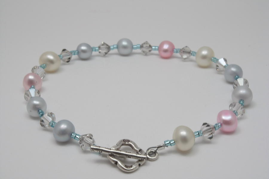 Jewelry Jewelry - Pretty Pastel Pearls by Jerri Nielsen