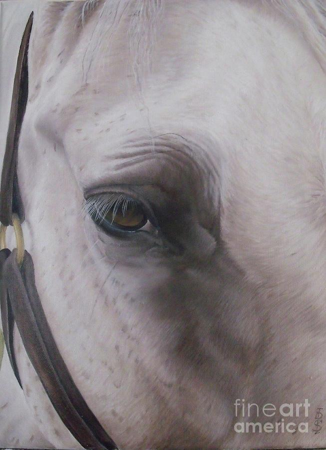 Horse Painting - Prides Eye-pride Of The Lough by Pauline Sharp