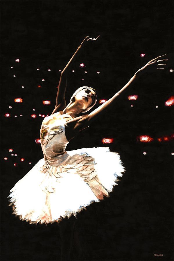 Prima Ballerina Painting - Prima Ballerina by Richard Young