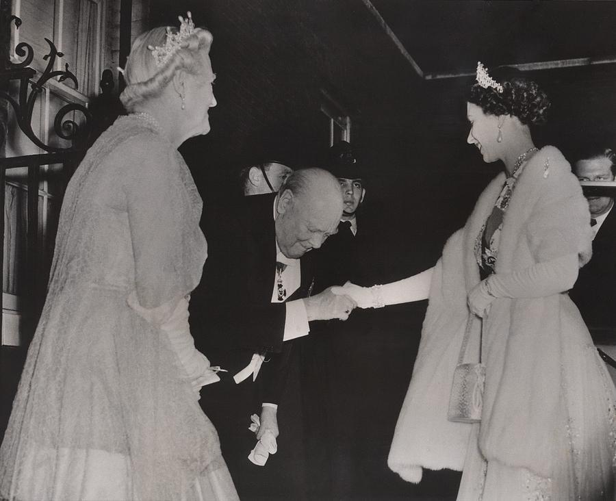 Prime Minister Winston Churchill Photograph