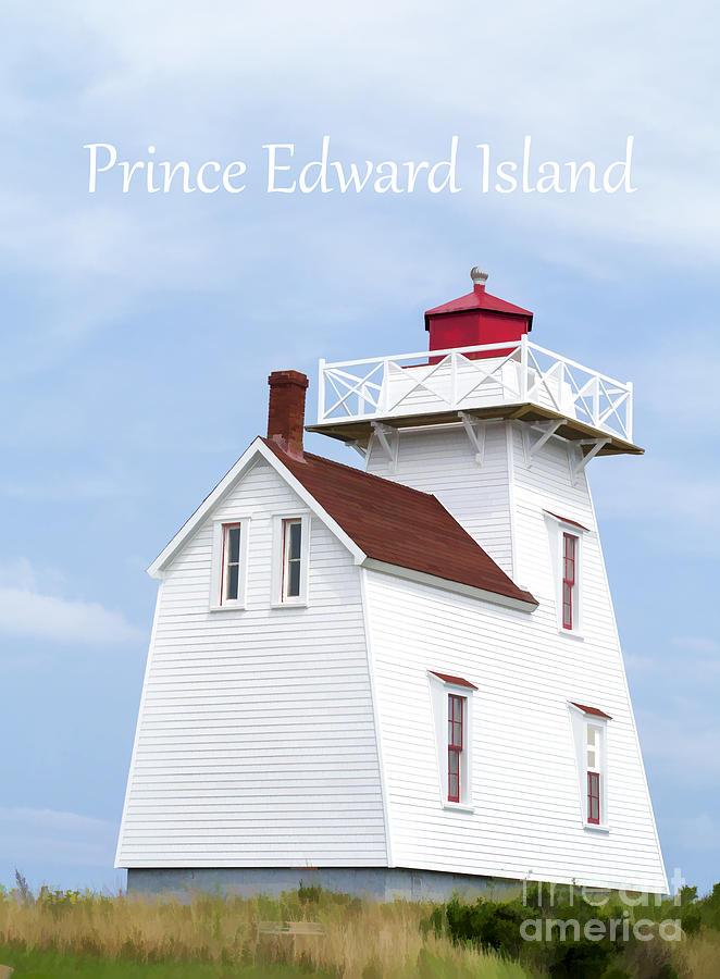 Prince Edward Island Lighthouse Poster Photograph