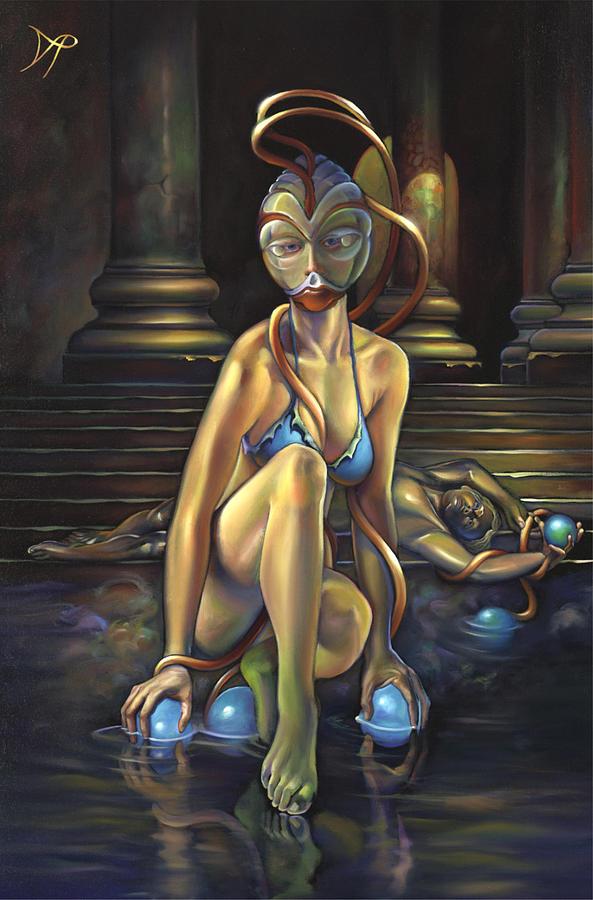 Princess Dejah Thoris Of Helium Painting