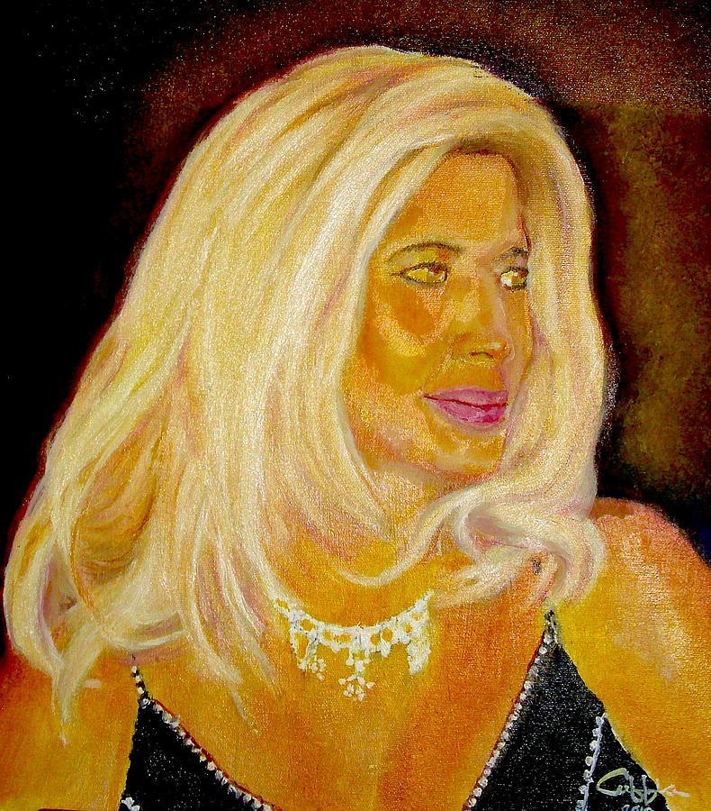 Portrait Painting - Princess-elfi-odu-dua by G Cuffia