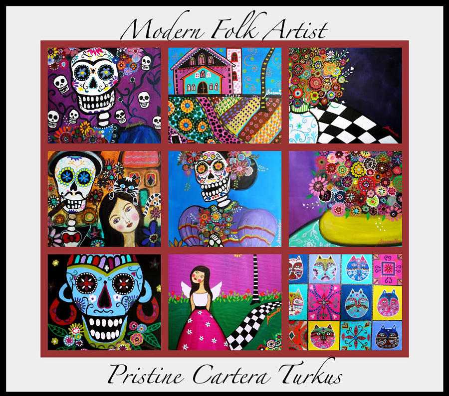 Modern Painting - Prisarts Paintings by Pristine Cartera Turkus