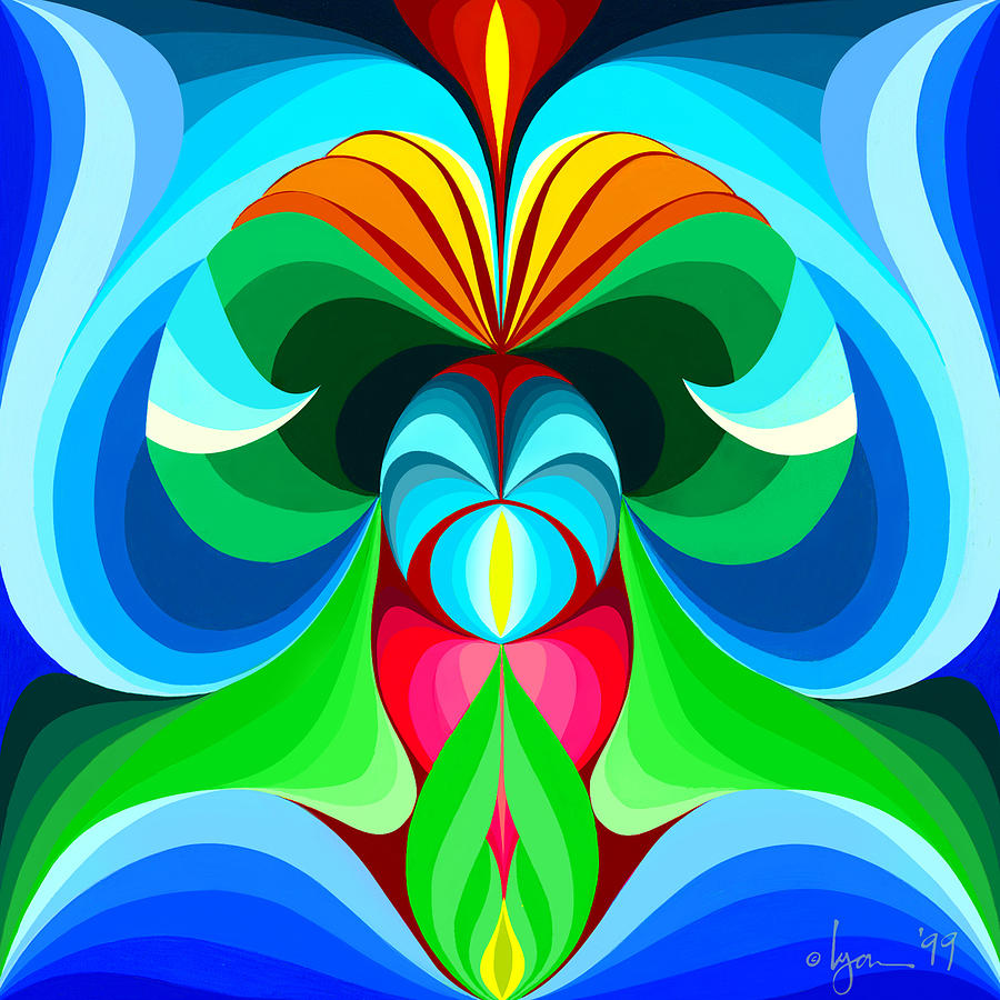 Mandalas Painting - Prosperity by Angela Treat Lyon
