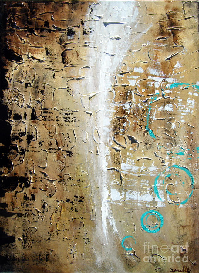 Abstract Painting - Puebla by Danielle Thompson