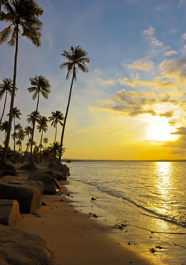 Beach Photograph - Puerto Rico Sunset by Stephen Anderson