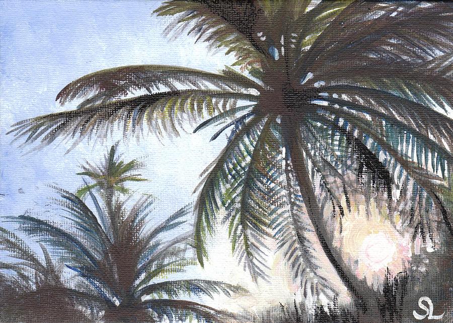 Puerto Painting - Puntas Sunrise by Sarah Lynch
