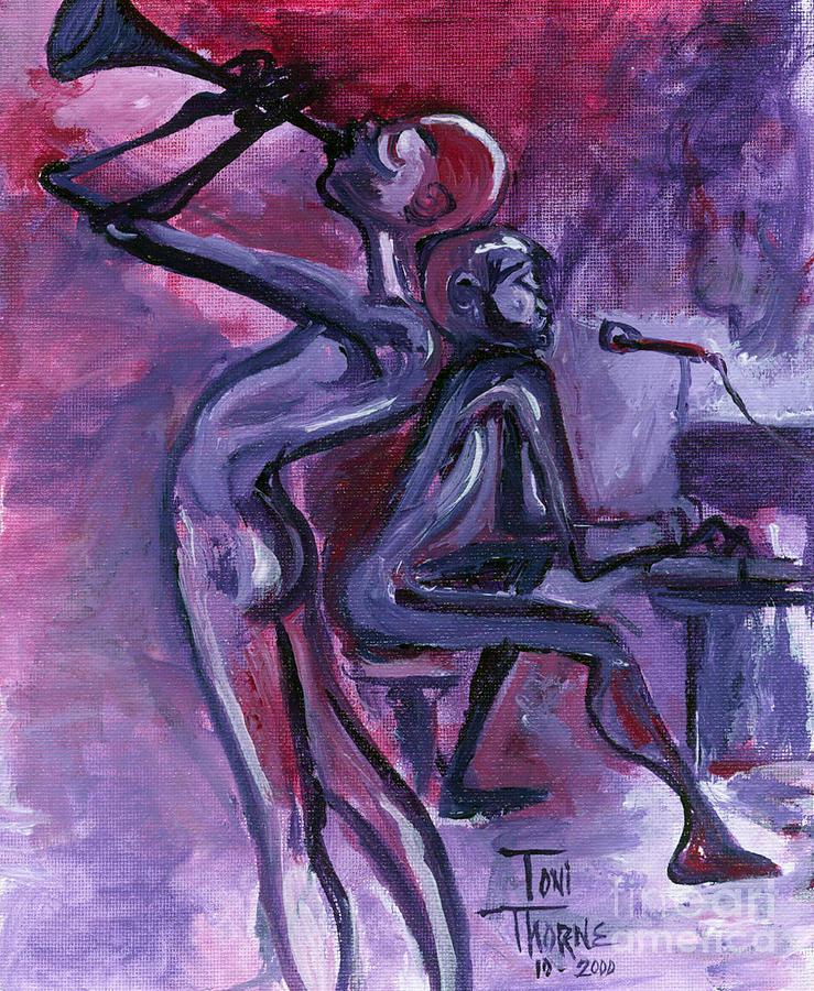 Purple Mood Painting