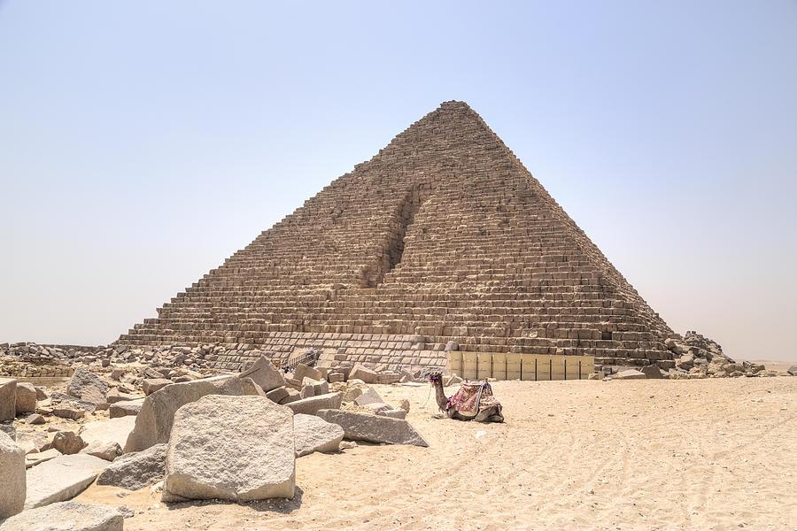 Pyramid Of Menkaure - Egypt