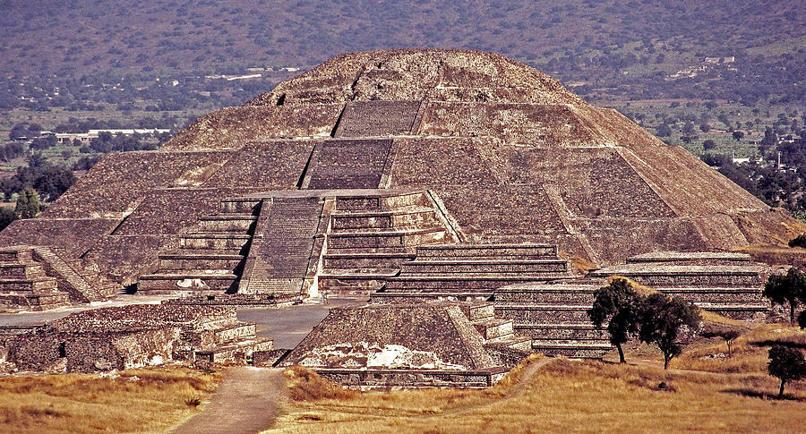Central America Photograph - Pyramid Of The Sun - Teotihuacan by Juergen Weiss