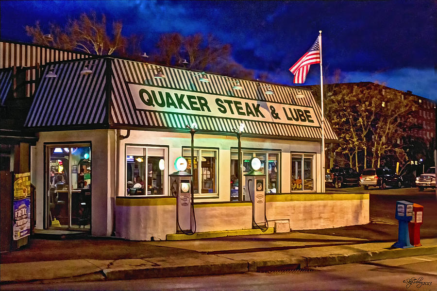 Restaurant Photograph - Quaker Steak And Lube by Skip Tribby